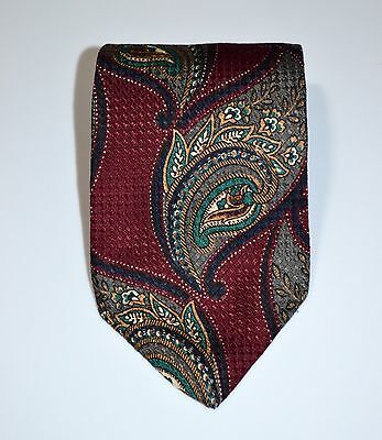 Gant Limited Edition Tie Paisley Red Green Blue