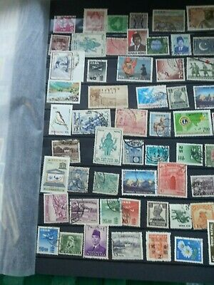 Stamp Pickers Worldwide Classic Stamps 100 Different Estate Collection Lot