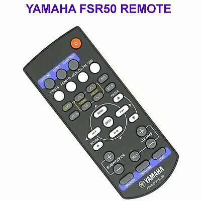 Yamaha FSR50 Remote Control for YHT-S401 SR301 WY57780 Original