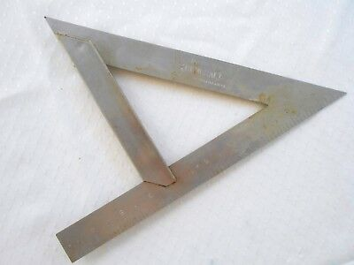 "Vintage GENERAL HARDWARE MFG NO 804 Speed Square 7"" Combination Carpenter VGC"