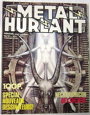 METAL HURLANT - N° 021 - GIGER, Gillon, Rivière, Sire, Voss Norville & Fourgeaud