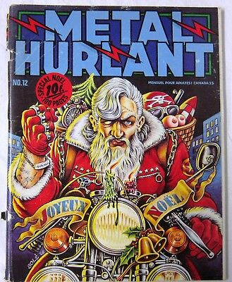 METAL HURLANT - N° 012 - SOLE, Bilal, Dionnet, Moebius, Locquet, Caza, Forest