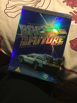 Back To The Future. Trilogy.DELUXE BOXET VERSION (DVD, 2005)used