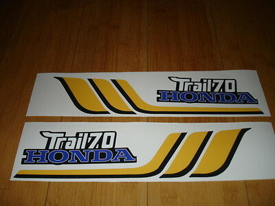 1977 Honda CT70 Frame Decals Mini Trail