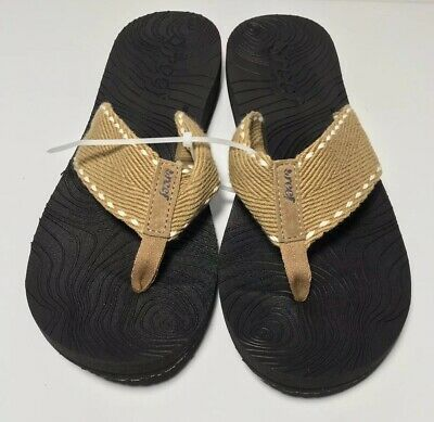 2946e631a NEW UGG WOMEN S Tawney Leather Thong Flip Flops Sandals Shoes Size 6 ...