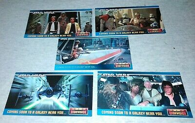 Topps Star Wars Widevision Promo Cards