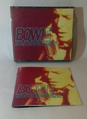 David Bowie - The Singles Collection 2 x CD Fat case box 1993