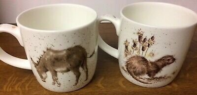 Wrendale Designs Mugs by Royal Worcester Fine Bone China