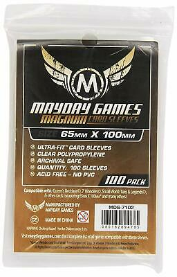 100 Mayday Games MDG7113 61x112 mm Buste Protettive Carte