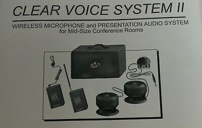 Wireless Microphone & Pa Audio System - Portable In Case - Audio Presentation