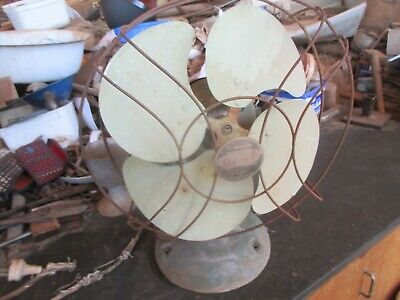 No-1-- -Old  Vintage  Electric  Fan  --Revelair  K R Ezzy --Sydney  --Turns