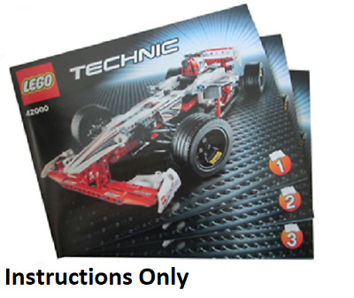 LEGO TECHNIC 42000 GRAND PRIX RACER 2 in 1  Used & Boxed