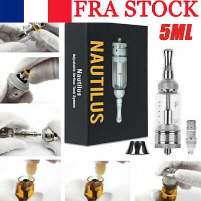 Hot Replace Aspire Nautilus 5mll Tank Adjustable Airflow Tank BVC 1.8ohm Coil