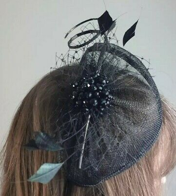 Ladies Fasinator Headband In Black Debenhams Nwot