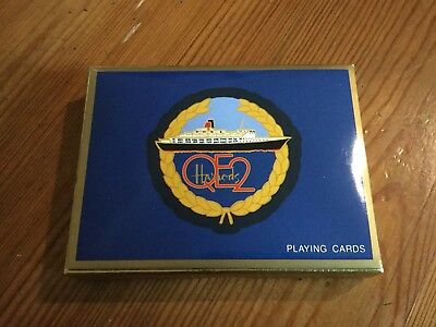 NEW 2 decks Piatnik QE2 / QEII Harrods Playing Cards Harrod's