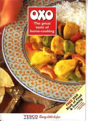 CG705. Advertising Booklet. OXO. 6 Recipes.
