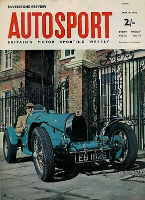 1963 10 MAY 55727 Autosport Magazine  SILVERSTONE PREVIEW