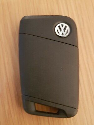 Vw 3 Button Smart Keyless Car Key Fob In Working Order.  (Ref 342)