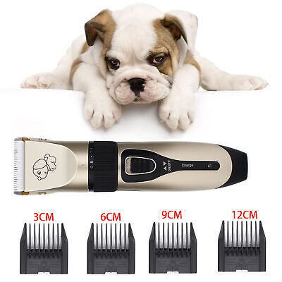 Pet Dog Cat Animal Clippers Hair Grooming Cordless Trimmer Shaver Rechargeable