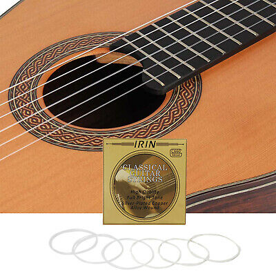 IRIN C660 Sets Of 6 PCS Silver Classical Guitar Strings ( .028-.043)