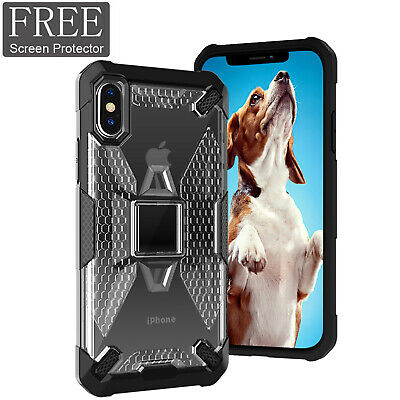 For iPhone X XR XS MAX 8 7 6 Plus Shockproof Rugged Hybrid Armor Hard Case Cover