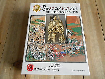 Set Wargame - Sekigahara - 3rd Printing - The Unification Of Japan -