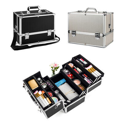 Professional Kosmetikkoffer Schminkkoffer Vanity Case Beauty Storage Make up Box