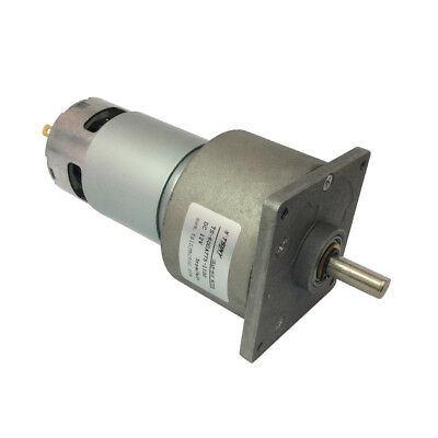 DC 12/24V Geared Motor Reducer With Metal Gearbox High Torque Parallel Shaft