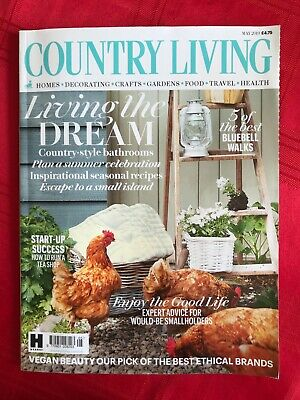 Country Living Magazine May 2019