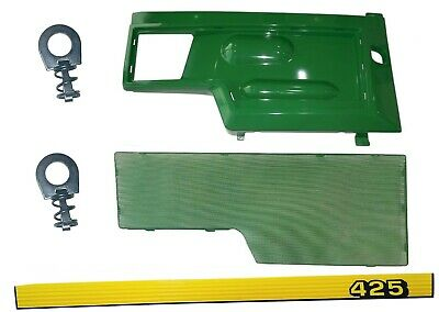 RH Side Panel/Screen/Sticker SET AM128982 M116020  Fits John Deere 425 UP SN
