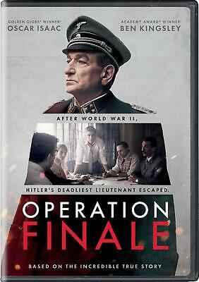 OPERATION FINALE DVD (region 1 us import) USED, IN GOOD CONDITION.