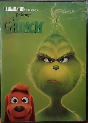 The Grinch [DVD] [2018] (region 1 us import) USED, IN GOOD CONDITION.