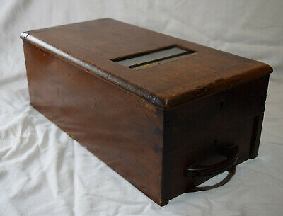 Antique Mahogany Cash Register / Till - G.H. Gledhill & Sons - Halifax - c. 1900