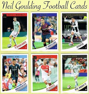 Panini DONRUSS SOCCER 2018-2019 ☆ Football Base Cards ☆ #1 to #87