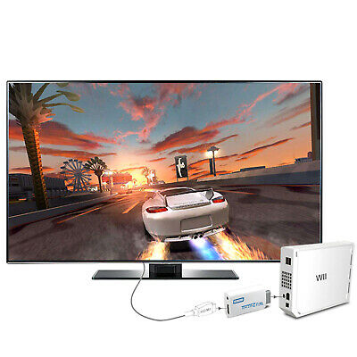 Wii to HDMI 720P Video Converter Audio Output Upscaling Adaptor For 1080P HD Use