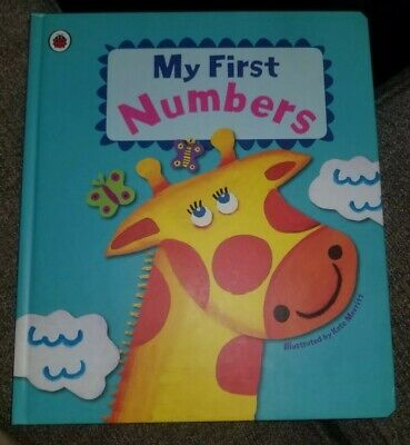 My First Numbers Book Hardcopy Children's Book