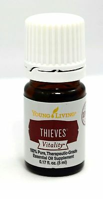 Young Living Essential Oils Thieves Vitality 5ml - New & Sealed - Free Shipping!