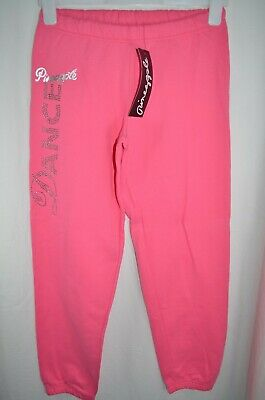 NEW Pineapple Pink Diamante Detail Tracksuit Bottoms Age 12 Years