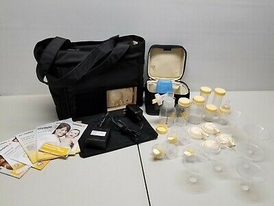 Medela pump in style advanced on the go tote with extras