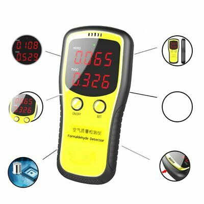 Portable Dioxide Meter CO2 Monitor Indoor Air Quality Formaldehyde Detector Hot