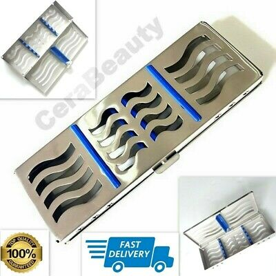 Dental Sterilization Cassette for 5 instruments New Style Rack Tray Surgical CE