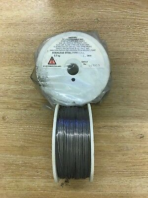1 x Reel Of Stainless Steel Type 316L 1.0mm Welding Wire 0.7kg