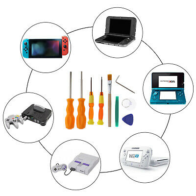 For Nintendo Switch NDS GBA Game Disassemble Repair Pry Tool Screwdriver Kit Set