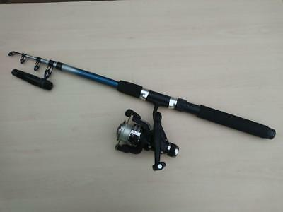 Travel 6ft Telescopic Fishing Rod /& Reel Combo Setup With Carryall /& Tackle NGT