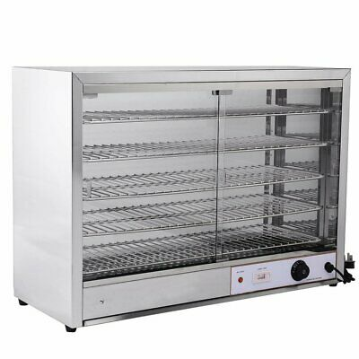 Commercial Heated Cabinet Pie Warmer Display Imettos 101038
