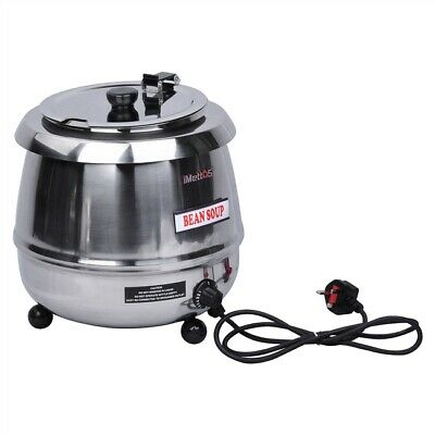 Commercial Soup Kettle 10L Gravy Stainless Steel Chilli Curry Imettos 201023