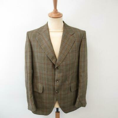 Vintage Dunn & Co Great Britain Men's Blazer / Jacket - Pure New Wool - Size L