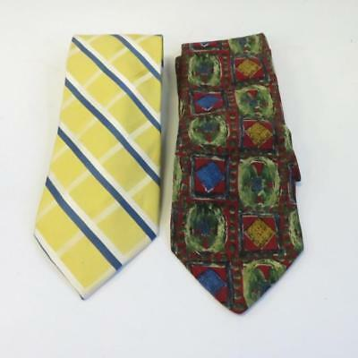 Men S Tie Bundle 1x Austin Reed 1x Jos A Bank 100 Pure Silk Any Occasion 10 50 Picclick Uk