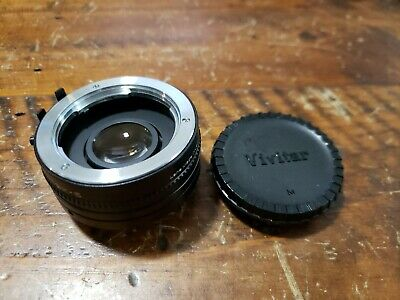 Vivitar Automatic Tele Converter 2X-5 for Minolta MD camera lens