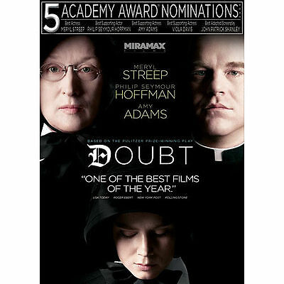 Doubt NEW (DVD, 2009) Meryl Streep, Philip Seymour Hoffman, Amy Adams